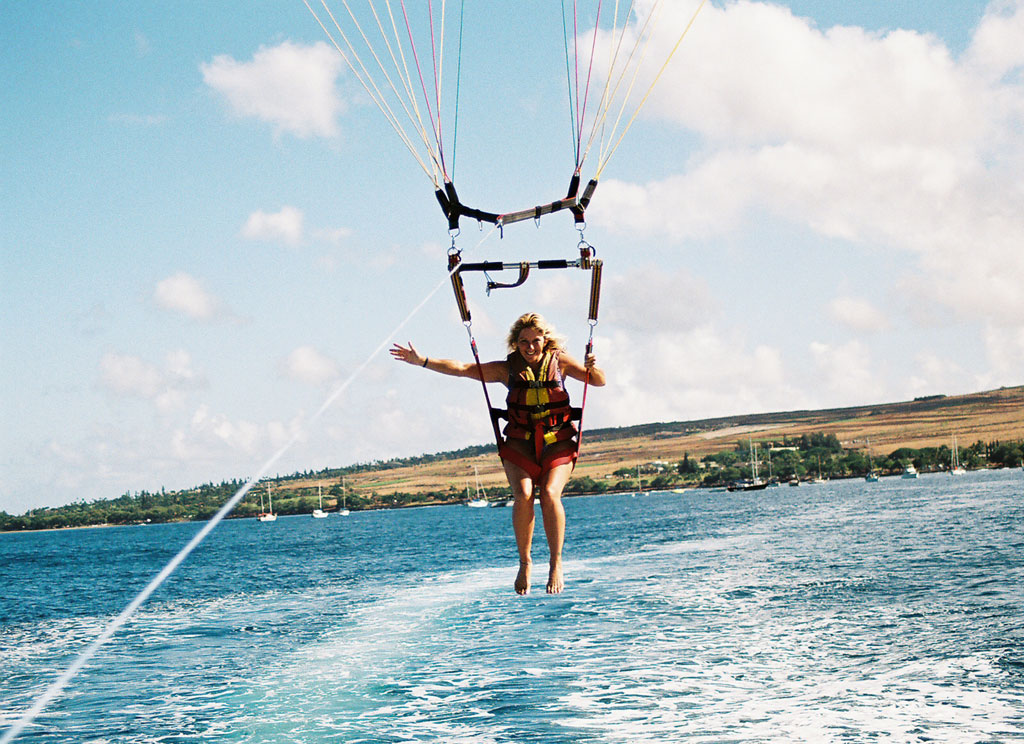 Parasailing in Paradise 1